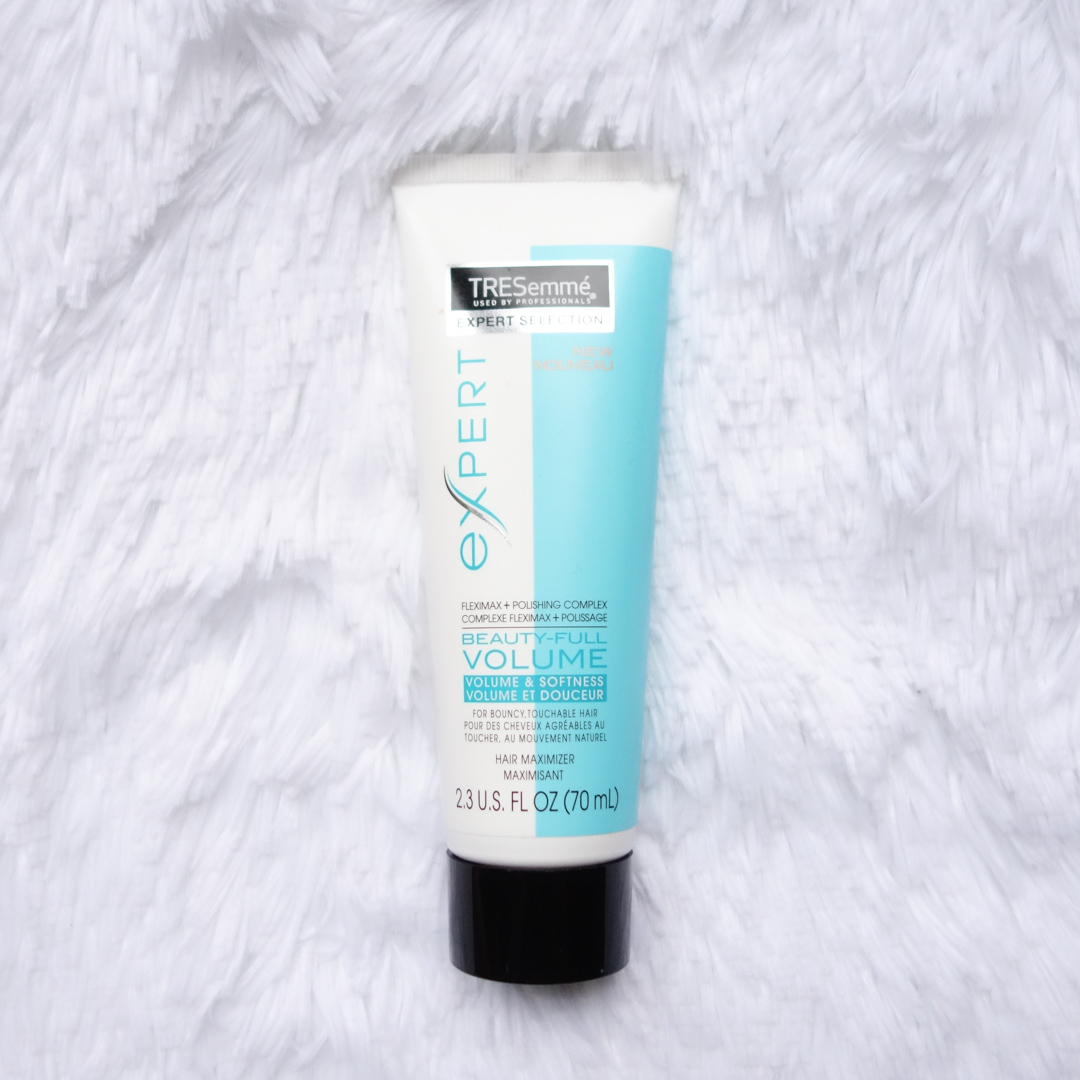 how to use tresemme beauty full volume