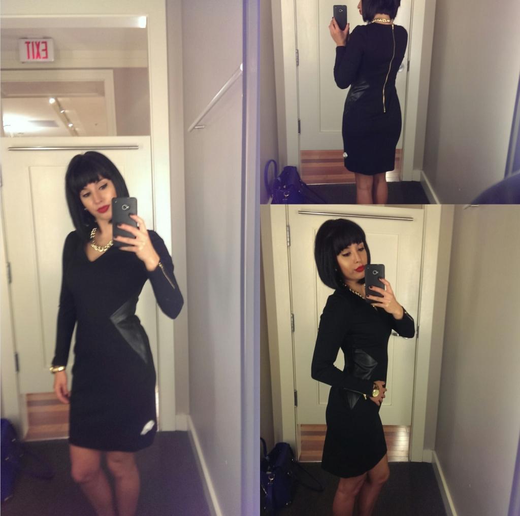 Finding the perfect little black dress_Banana Republic