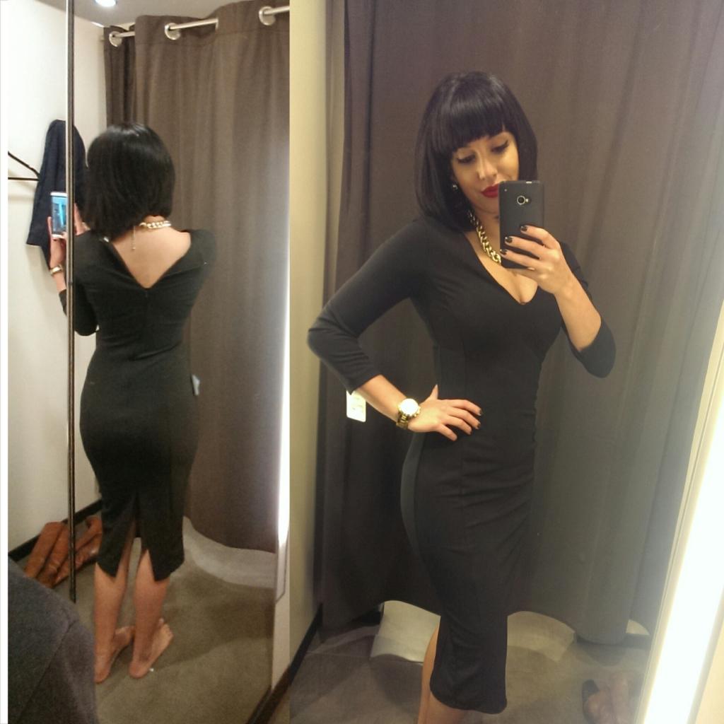 Finding the perfect little black dress_Zara