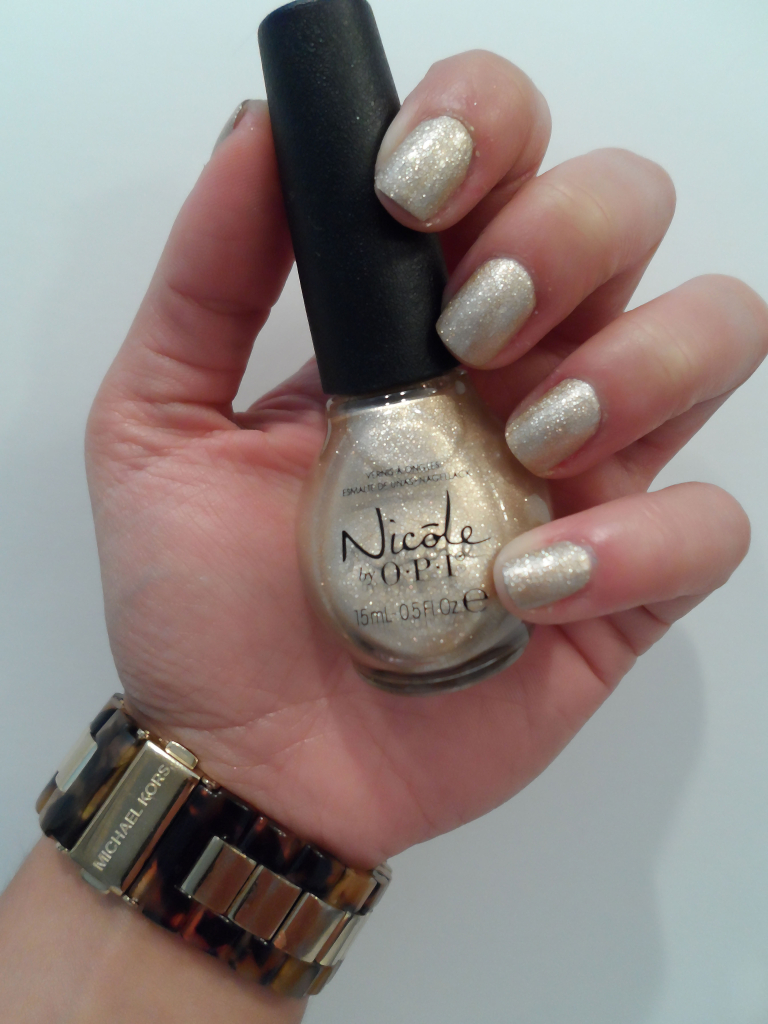Nicoled by OPI On a Gilt Trip