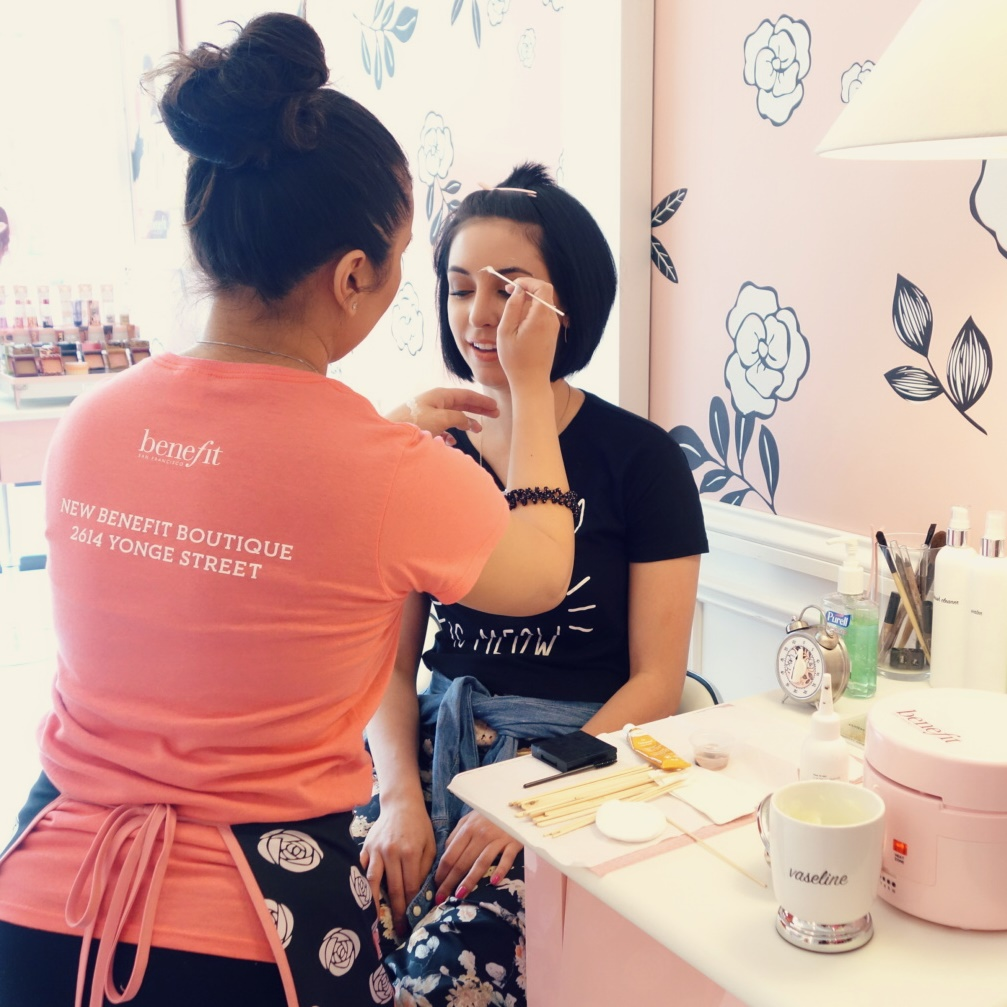 Toronto Benefit Boutique Brow Tinting