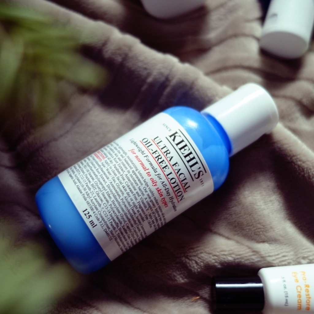 My skincare routine_ Kiehl's Ultra Facial Oil-Free Lotion_2